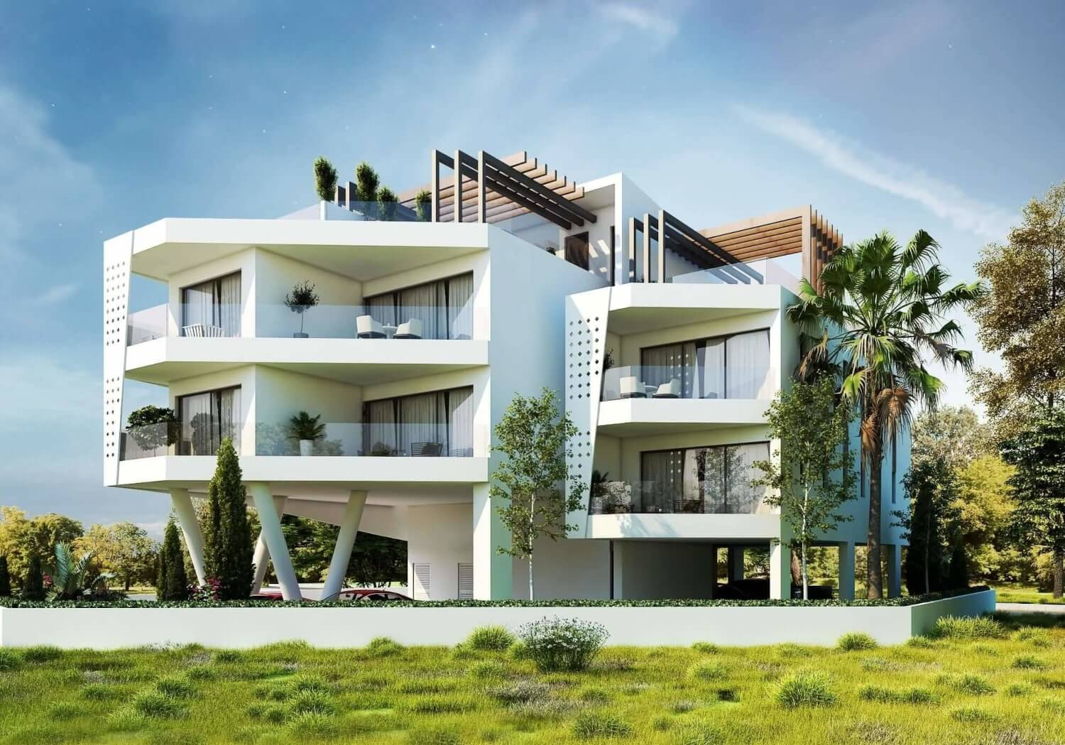 Indigo residence design by our architecture firm