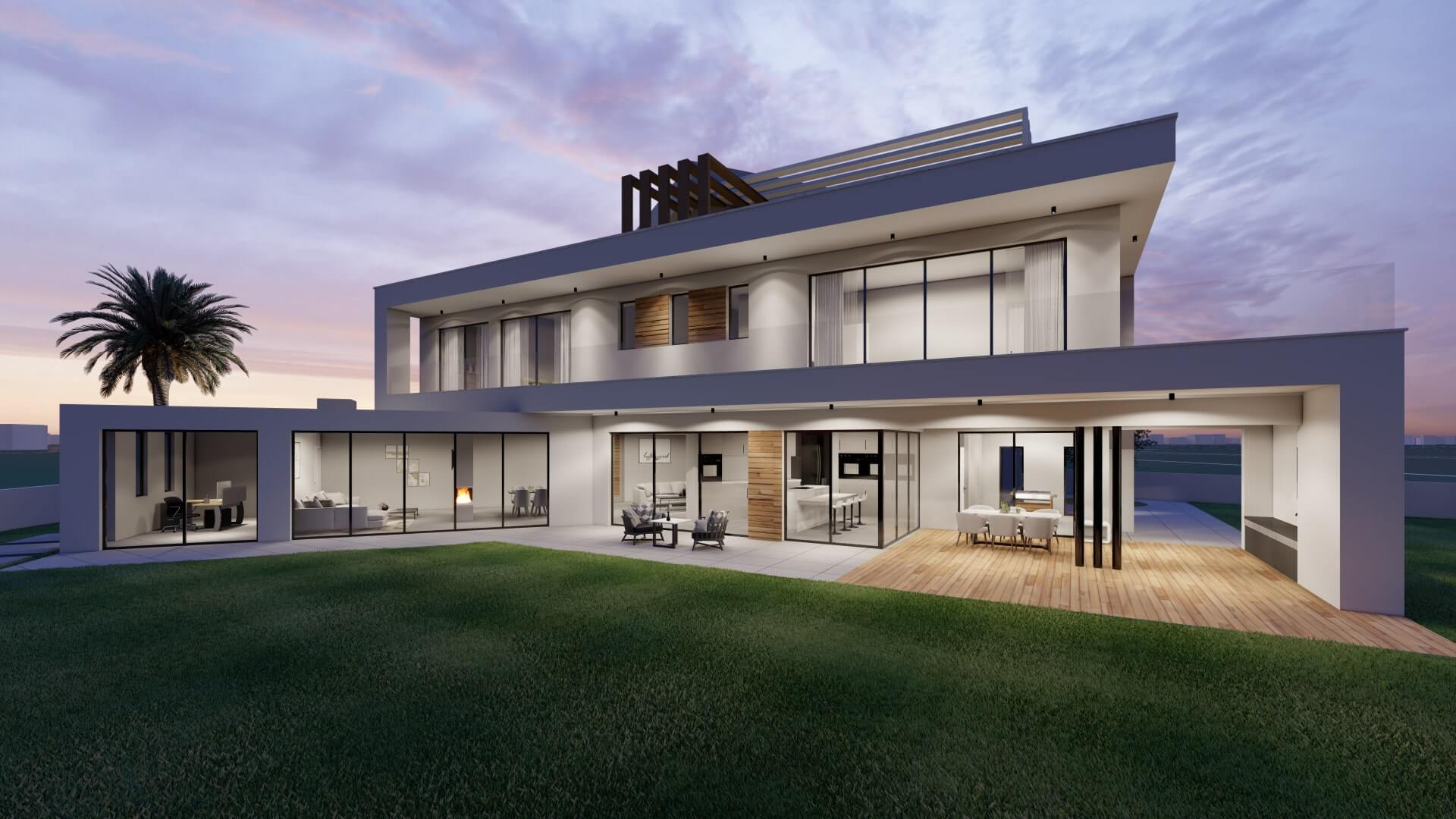 architecture design of private residence Ayia Napa