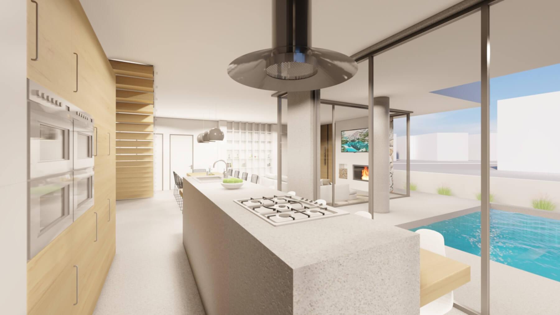 Private-residence-in-Ormidia-kitchen-interior-design