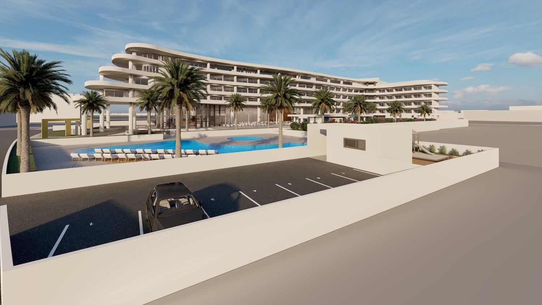 Hotel architecture visualization