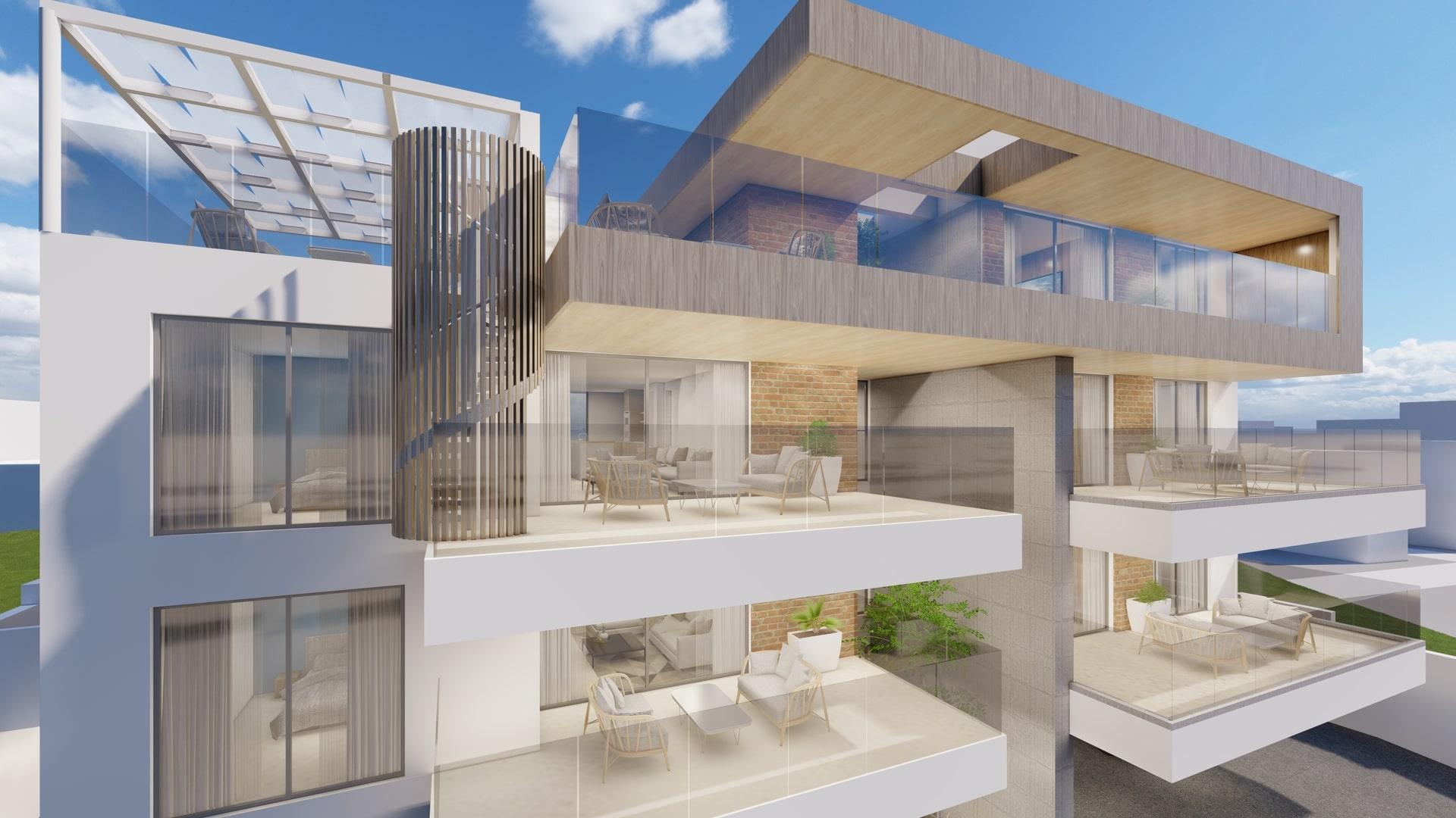 architects cyprus design apartments