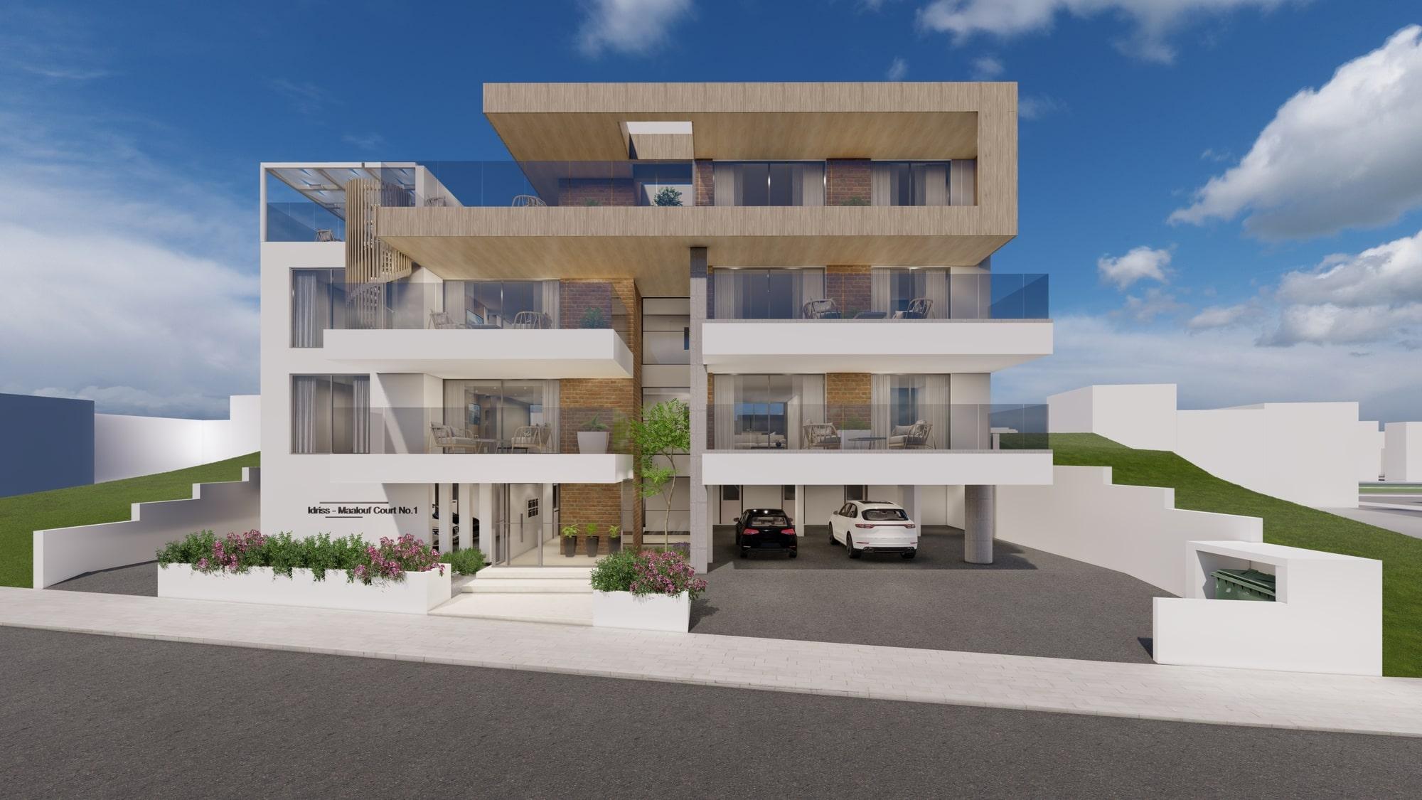 luxury apartments in limassol architecture design