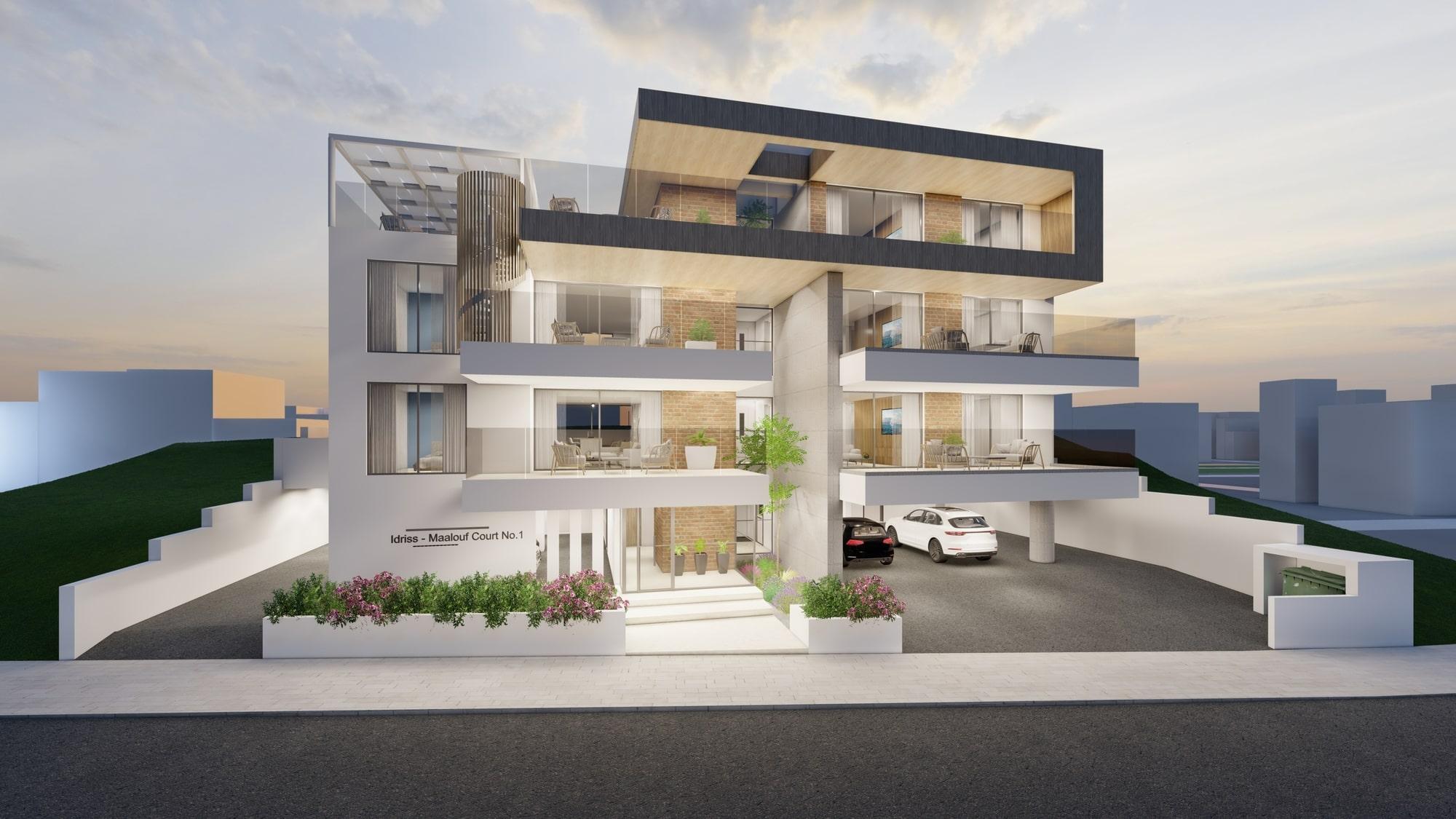 impressive luxury apartments in limassol